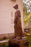 Northcentral Pennsylvania, Mary Wells Morris statue, Wellsboro, PA