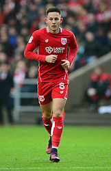 Josh Brownhill of Bristol City - Mandatory by-line: Alex James/JMP - 07/01/2017 - FOOTBALL - Ashton Gate - Bristol, England - Bristol City v Fleetwood Town - Emirates FA Cup third round