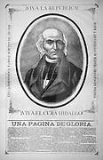 Viva la república! Viva el Cura Hidalgo! Una página de gloria (Long live the republic! Long live Father Hidalgo! A page of glory)  Miguel Hidalgo y Costilla (8 May 1753 – 30 July 1811) or Miguel Hidalgo was a priest and the leader of the Mexican War of Independence.