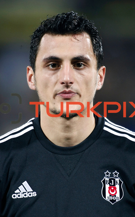 Besiktas's Mustafa Pektemek during their Turkish Superleague soccer match Ankaragucu between Besiktas at the 19 Mayis stadium in Ankara Turkey on Sunday 08 January 2012. Photo by TURKPIX