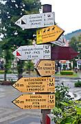Informacje turystyczne, centrum miasta, Ustrzyki Dolne