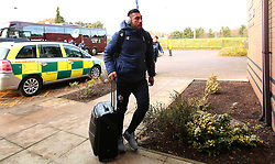 Tusi Pisi of Bristol Rugby arrives at Castle Park for the fixture against Doncaster Knights - Mandatory by-line: Robbie Stephenson/JMP - 02/12/2017 - RUGBY - Castle Park - Doncaster, England - Doncaster Knights v Bristol Rugby - Greene King IPA Championship