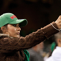 16 March 2009: A fan of Mexico takes a picture during the 2009 World Baseball Classic Pool 1 game 3 at Petco Park in San Diego, California, USA. Cuba wins 7-4 over Mexico.