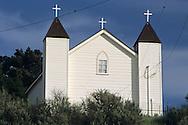 San Ramon Chapel (est. 1875) Santa Maria Valley, near Santa Maria, Santa Barbara County, California