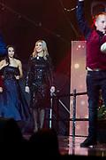 Koningin Maxima, als erevoorzitter van Meer Muziek in de Klas, tijdens het Kerst Muziekgala 2019 in de IJsselhallen in Zwolle. <br /> <br /> Queen Maxima, as honorary chairman of More Music in the Classroom, during the Christmas Music Gala 2019 in the IJsselhallen in Zwolle.<br /> <br /> Op de foto / On the photo: Queen Maxima / Koningin Maxima