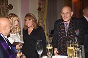 FARID KARIM; BASIA BRIGGS; EVE POLLARD, NAIM ATTALLAH,, Launch of book by Basia Briggs, Mother Anguish. The Ritz hotel, Piccadilly. 4 December 2017