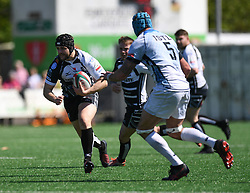 Pontypridd Alex Knott<br /> <br /> Pontypridd RFC v Cardiff RFC<br /> <br /> Photographer Mike Jones / Replay Images<br /> Sardis Road, Pontypridd.<br /> Wales - 5th May 2018.<br /> <br /> Pontypridd RFC v Cardiff RFC<br /> Principality Premiership<br /> <br /> World Copyright © Replay Images . All rights reserved. info@replayimages.co.uk - http://replayimages.co.uk