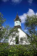 Church at Thingvellir historic site, Iceland
