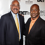 l to r: Charles Warfield and Stephen Hill at The Urban Network Magazine and Alistair Entertainment V.I.P Reception honoring Stephen Hill & Charles Warfield & theCelebration of Urban Network's 21st Anniversary held at the Canal Room on May 13, 2009 in New York City .