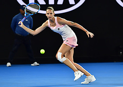 January 24, 2019 - Melbourne, Australia - Australian Open - Pliskova - Republique Tcheque (Credit Image: © Panoramic via ZUMA Press)