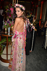 ROSANNA FALCONER at the Tatler Magazine's Kings & Queens party held at Savini at Criterion, Piccadilly, London on 1st June 2016.