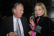 Andrew Trollope and Lady Jacqueline Thomson. fund raising dinner hosted  by Marco Pierre White and Franki Dettori at  Frankie's. Knightsbridge. 17 January 2004. ONE TIME USE ONLY - DO NOT ARCHIVE  © Copyright Photograph by Dafydd Jones 66 Stockwell Park Rd. London SW9 0DA Tel 020 7733 0108 www.dafjones.com