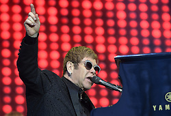 July 2, 2017 - Stockholm, Sweden - Elton John uppträder pÃ¥ Gröna Lund, Stockholm, 2017-07-02 ..(c) Karin Törnblom / IBL. (Credit Image: © Karin TöRnblom/IBL via ZUMA Press)