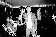 Ian Schrager and Rita. H.B.O. party. East Hampton. 1993. © Copyright Photograph by Dafydd Jones 66 Stockwell Park Rd. London SW9 0DA Tel 020 7733 0108 www.dafjones.com