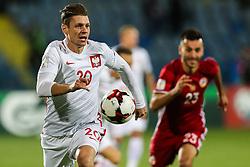 October 5, 2017 - Yerevan, Armenia - Lukasz Piszczek (POL), during the FIFA World Cup 2018 qualification football match between Armenia and Poland in Yerevan on October 5, 2017. (Credit Image: © Foto Olimpik/NurPhoto via ZUMA Press)