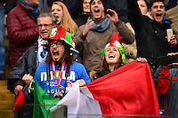 Supporters Italie  - 15.03.2015 - Rugby - Italie / France - Tournoi des VI Nations -Rome<br /> Photo : David Winter / Icon Sport