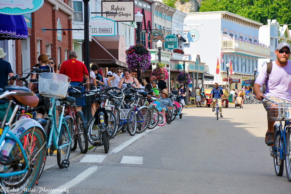 Main Street, Mackinac Island Michigan
