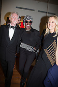 PHILIP TREACY; GRACE JONES; ALANNAH WESTON;, Isabella Blow: Fashion Galore! private view, Somerset House. London. 19 November 2013