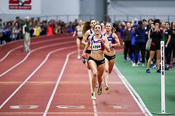 David Hemery Valentine Invitational<br /> Indoor Track & Field at Boston University , womens One Mile, heat 1, , HOKA, NJNYTC,