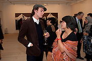 Angki Purbandono;, Indonesian Eye Contemporary Art Exhibition Reception, Saatchi Gallery. London. 9 September 2011. <br /> <br />  , -DO NOT ARCHIVE-© Copyright Photograph by Dafydd Jones. 248 Clapham Rd. London SW9 0PZ. Tel 0207 820 0771. www.dafjones.com.