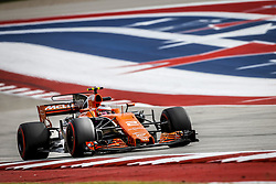 October 20, 2017 - Austin, United States of America - Motorsports: FIA Formula One World Championship 2017, Grand Prix of United States, ..#2 Stoffel Vandoorne (BEL, McLaren Honda) (Credit Image: © Hoch Zwei via ZUMA Wire)