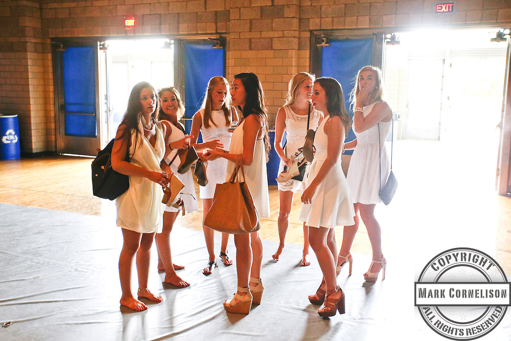 Bid Day on Campus on Saturday  August 19, 2014 in Lexington, Ky. Photo by Mark Cornelison