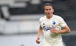 Bryan Oviedo (FC København) under kampen i 3F Superligaen mellem FC København og AaB den 17. juni 2020 i Telia Parken, København (Foto: Claus Birch).