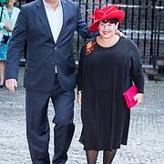 NLD/Den Haag/20170919 - Prinsjesdag 2017, Sharon Dijksma en partner Thomas Windmulder
