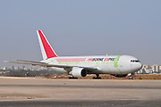 Israel, Ben-Gurion international Airport Airborne Express Boeing 767-281