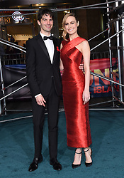 March 8, 2017 - Hollywood, California, U.S. - Brie Larson and Alex Greenwald arrives for the premiere of the film 'Kong Skull Island' at the Dolby theater. (Credit Image: © Lisa O'Connor via ZUMA Wire)