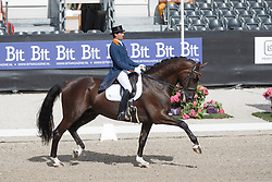 Visser Tommie, (NED), Vario Hippiques Vingino<br /> Kingsley Donadeo Grand Prix<br /> Dutch Championship Dressage - Ermelo 2015<br /> © Hippo Foto - Dirk Caremans<br /> 17/07/15