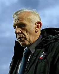 Bolton Wanderers coach Peter Reid - Mandatory by-line: Robbie Stephenson/JMP - 05/04/2016 - FOOTBALL - Griffin Park - Brentford, England - Brentford v Bolton Wanderers - Sky Bet Championship