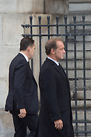 Vincent Lindon Obsèques de Jacques Chirac Lundi 30 Septembre 2019 église Saint Sulpice Paris