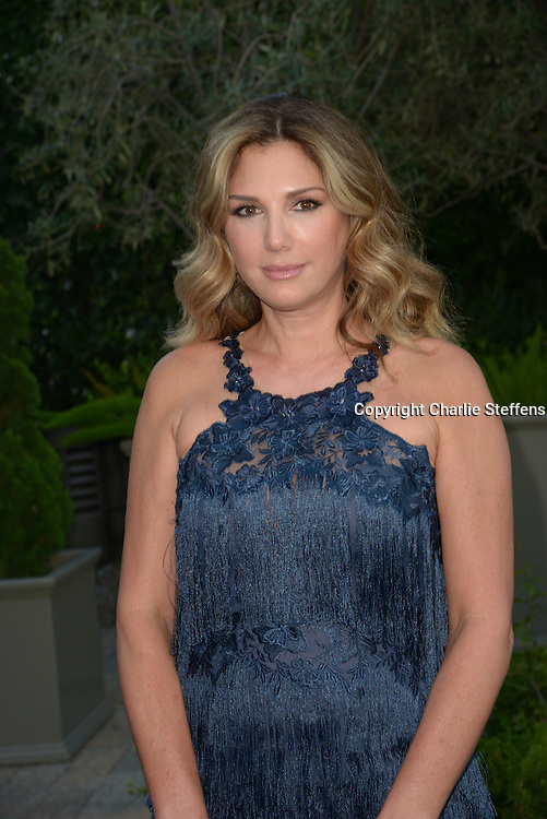 Daisy Fuentes arrives at the Mercy For Animals' Annual Hidden Heroes Gala on September 10, 2016 at Vibiana, Los Angeles, California (Photo: Charlie Steffens/Gnarlyfotos)