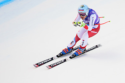 January 19, 2018 - Cortina D'Ampezzo, Dolimites, Italy - Jasmine Flury of Switzerland competes  during the Downhill race at the Cortina d'Ampezzo FIS World Cup in Cortina d'Ampezzo, Italy on January 19, 2018. (Credit Image: © Rok Rakun/Pacific Press via ZUMA Wire)