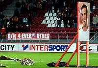 Fotball<br /> Nederland<br /> Foto: ProShots/Digitalsport<br /> NORWAY ONLY<br /> <br /> 01-12-2005 voetbal david di tomasso, <br /> Massale opkomst voor de herdenkingsdienst voor de maandagavond overleden David di Tomasso