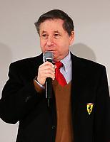 Ferrari team manager Jean Todt during the official presentation of the new F2005 F1 car at the team's headquarters in Maranello.<br /> <br /> <br /> <br /> Jean Todt durante la cerimonia di presentazione della nuova Ferrari F2005.<br /> <br /> <br /> <br /> Photo Munch / Graffiti