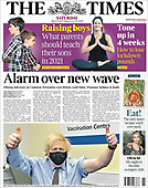 March 20, 2021 (UK): Front-page: Today's Newspapers In United Kingdom