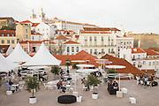 Portas do Sol esplanade with view over Alfama district.