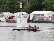 Henley Royal Regatta, Henley on Thames, Oxfordshire, 28 June - 2 July 2017.  Saturday  11:17:38   01/07/2017  [Mandatory Credit/Intersport Images]<br /> <br /> Rowing, Henley Reach, Henley Royal Regatta.<br /> <br /> The Women's Double Sculls<br />  B.C. Donoghue & O.K. Loe (Waiariki Rowing Club, New Zealand)