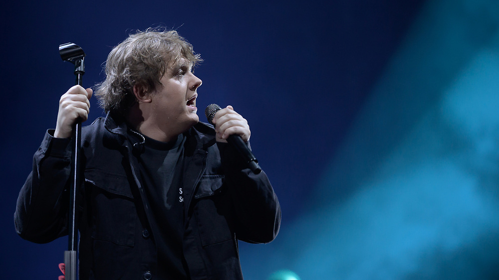 Brit award winning singer songwriter Lewis Capaldi plays night one of a two night stint at Glasgow's SSE Hydro, 5th March 2020