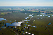 Nederland, Drenthe, Gemeente Norg, 27-08-2013; het Kolonieveld in het Fochteloerveen. Het Fochteloerveen, ten oosten van Assen, is een van de weinige en best bewaarde hoogveengebieden in Nederland.<br /> The Fochteloerveen, east of Assen, is one of the few and best preserved peat moors in the Netherlands.<br /> luchtfoto (toeslag op standard tarieven);<br /> aerial photo (additional fee required);<br /> copyright foto/photo Siebe Swart