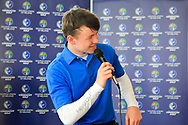 Joshua Hill (Galgorm Castle) winner of the Connacht U16 Boys Amateur Open Championship at Galway Bay Golf Club, Oranmore, Galway on Wednesday 17th April 2019.<br /> Picture:  Thos Caffrey / www.golffile.ie