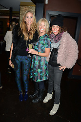 Left to right, LISA BUTCHER, KELLY COOPER BARR and TARA SMITH at a party to launch Madderson London Women's Wear held at Beaufort House, 354 Kings Road, London on 23rd January 2014.
