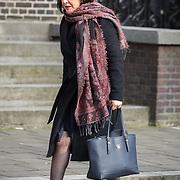NLD/Rotterdam/20180220 - Herdenkingsdienst Ruud Lubbers, Khadija Arib