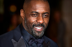 Idris Elba attending the EE British Academy Film Awards at the Royal Opera House, Bow Street, London. PRESS ASSOCIATION Photo. Picture date: Sunday February 14, 2016. See PA Story SHOWBIZ Baftas. Photo credit should read: Ian West/PA Wire