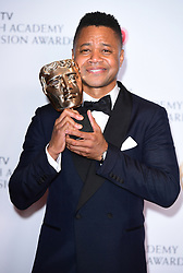 Cuba Gooding Jr in the press room at the Virgin TV British Academy Television Awards 2017 held at Festival Hall at Southbank Centre, London. PRESS ASSOCIATION Photo. Picture date: Sunday May 14, 2017. See PA story SHOWBIZ Bafta. Photo credit should read: Ian West/PA Wire