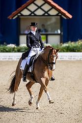 BURFEIND Juliane (GER), Sagnol 3<br /> Hagen - Horses and Dreams 2019<br /> Prix St-Georges CDI 1*<br /> 24. April 2019<br /> © www.sportfotos-lafrentz.de/Stefan Lafrentz