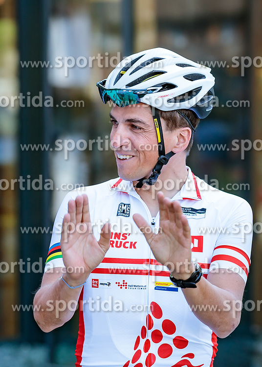 25.04.2018, Bad Häring, AUT, ÖRV Trainingslager, UCI Straßenrad WM 2018, im Bild Thomas Rohregger (AUT) // during a Testdrive for the UCI Road World Championships in Bad Häring, Austria on 2018/04/25. EXPA Pictures © 2018, PhotoCredit: EXPA/ JFK