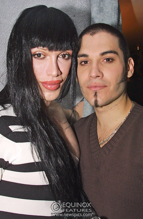 Musician Pete Burns who's death was announced 24 October 2016. The launch party for new gay club The Shadow Lounge situated at 5 Brewer Street, Soho, London the site of the old Astral cinema and table dancing club.<br /> ©2001 Edward Hirst/Equinox Features +448700780000<br /> <br /> Time Taken: 235422<br /> Date Taken: 20010711<br /> Picture ID: EQRA17B2135